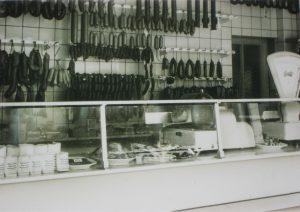 Verkaufsladen 1958